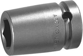 APEX 5118 9/16'' Standard Impact Socket, 1/2'' Square Drive