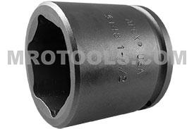 APEX 5148 1 1/2'' Standard Impact Socket, 1/2'' Square Drive