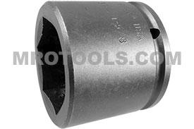 APEX 5152 1 5/8'' Standard Impact Socket, 1/2'' Square Drive