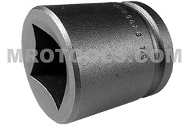 5628 Apex 7/8'' Standard Socket, For Single Square Nuts, 1/2'' Square Drive