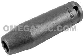 5MM21 Apex 5mm Metric Long Socket, 1/4'' Square Drive