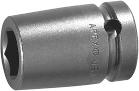 APEX 6136 1 1/8'' Standard Impact Socket, 5/8'' Square Drive