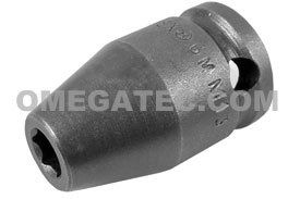 6MM13 Apex 6mm Metric Standard Socket, 3/8'' Square Drive