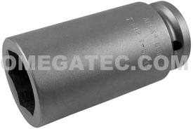 7342 Apex 1 5/16'' Extra Long Socket, 3/4'' Square Drive
