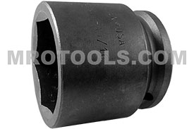 APEX 7454 1 11/16'' Standard Impact Socket, Thin Wall, 3/4'' Square Drive