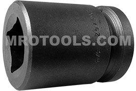7624 Apex 3/4'' Standard Socket, For Square Nut, 3/4'' Square Drive