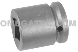 APEX 7628 7/8'' Standard Impact Sockets, For Square Nuts, 3/4'' Square Drive