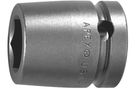8136-D Apex 1 1/8'' 12-Point Standard Socket, 1'' Square Drive