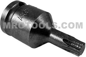 APEX 834-TX40-1.62 T-40 Torx Bits, Female Square Service Drive
