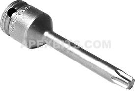 APEX 834-TX40-2.95 T-40 Torx Bits, Female Square Service Drive