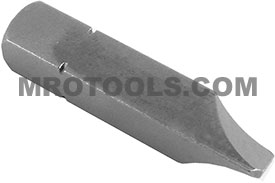 APEX 890-4X Slotted Insert Bits, 5/16'' Square Drive