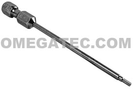 AM-02-3 1/4'' Apex Brand Socket Head (Hex-Allen) Power Drive Bits