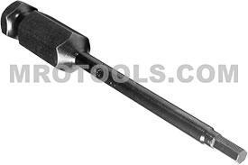 APEX AN-04 1/8'' Socket Head Power Drive Bits, 7/16'' Hex Drive