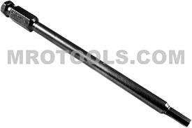 APEX AN-06-6 3/16'' Socket Head Power Drive Bits, 7/16'' Hex Drive