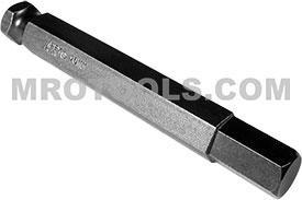 AN-10MM 7/16'' Apex Brand Socket Head (Hex-Allen) Power Drive Bits, Metric