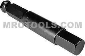AN-12MM 7/16'' Apex Brand Socket Head (Hex-Allen) Power Drive Bits, Metric