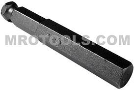 APEX AN-16 1/2'' Socket Head Power Drive Bits, 7/16'' Hex Drive
