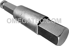 AN-17MM-250MM 7/16'' Apex Brand Socket Head (Hex-Allen) Power Drive Bits, Metric