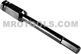 AN-5MM 7/16'' Apex Brand Socket Head (Hex-Allen) Power Drive Bits, Metric