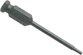 AN-6MM-6 7/16'' Apex Brand Socket Head (Hex-Allen) Power Drive Bits, Metric