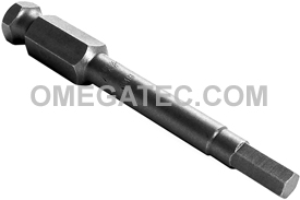 AN-6MM 7/16'' Apex Brand Socket Head (Hex-Allen) Power Drive Bits, Metric