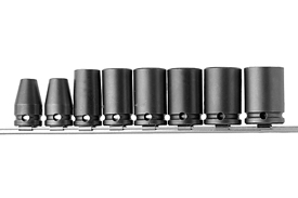 APS38 3/8'' Apex Brand Standard Socket Set, 8 Piece