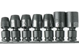 APU56 1/2'' Apex Brand 6 Piece Universal Wrench Set, Standard
