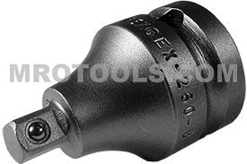 EX-260-B 1/2'' Apex Brand Square Drive Adapter