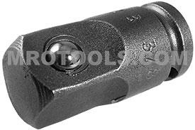 APEX EX-372-B Straight Adapter, 1/4'' Square Drive, Ball Lock