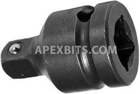 EX-375-B 1/2'' Apex Brand Square Drive Adapter
