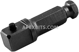EX-501-2 Apex Brand Power Drive Extension, With 1/2'' Male Square