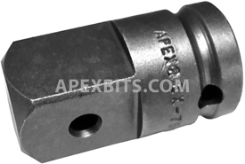 EX-751 1/2'' Apex Brand Square Drive Adapter