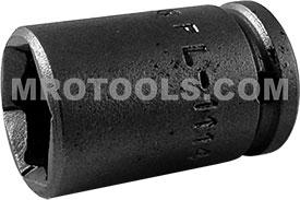 FL-1114 Apex 7/16'' Fast Lead Standard Socket, 1/4'' Square Drive