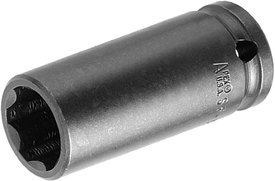 APEX SF-6320 5/8'' Extra Long Impact Socket, Surface Drive, Thin Wall, 5/8'' Square Drive