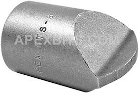 HTS-8 Apex #8 Hi-Torque Insert Bit, 1/2'' Square Drive