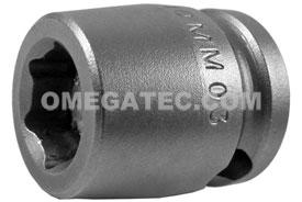 M-10MM03 Apex 10mm Magnetic Metric Short Socket, 3/8'' Square Drive