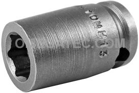 M-10MM13 Apex 10mm Magnetic Metric Standard Socket, 3/8'' Square Drive