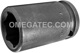 M-16MM13 Apex 16mm Magnetic Metric Standard Socket, 3/8'' Square Drive