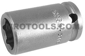 M-3118 Apex 9/16'' Magnetic Standard Socket, 3/8'' Square Drive