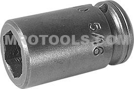 1E10 Apex 5/16'' Standard Socket, For Sheet Metal Screw, Predrilled Holes, 1/4'' Square Drive