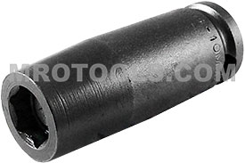 MB-10MM23 Apex 10mm Magnetic Bolt Clearance Metric Long Socket, 3/8'' Square Drive