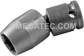 SA-202 Apex 1/2'' Universal Wrench, 3/8'' Square Drive