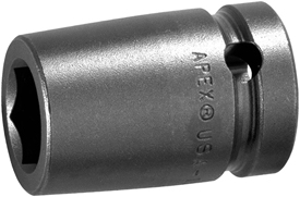 SF-15MM16 Apex 15mm Surface Drive Metric Standard Socket, 5/8'' Square Drive