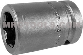 SF-16MM15 Apex 16mm Surface Drive Metric Standard Socket, 1/2'' Square Drive