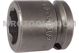 SF-3016 Apex 1/2'' Surface Drive Short Socket, 3/8'' Square Drive