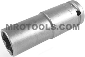 APEX SF-5524 3/4'' Extra Long Impact Socket, Surface Drive, Thin Wall, 1/2'' Square Drive