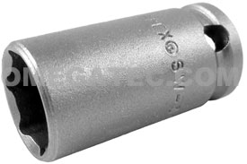 SW-343 Apex 9/16'' Standard Socket, With Tapered Nose, 3/8'' Square Drive