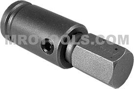 APEX SZ-18 9/16'' Socket Head Bits With Drive Adapters, 3/8'' Drive