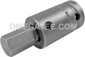 APEX SZ-25 1/2'' Socket Head Bit, 1/2'' Square Drive