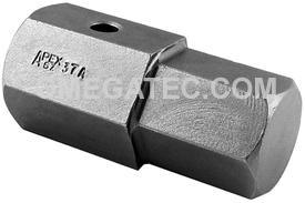 APEX SZ-37-A 3/4'' Socket Head Bits, 3/4'' Drive